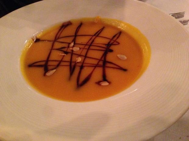 Zuppe di butternut squash