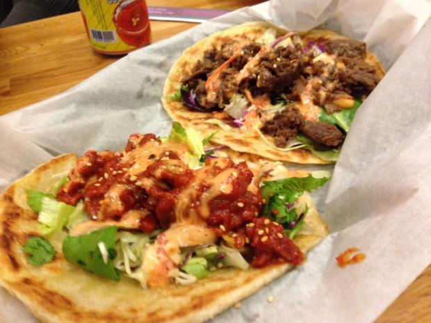 Paratha Tacos