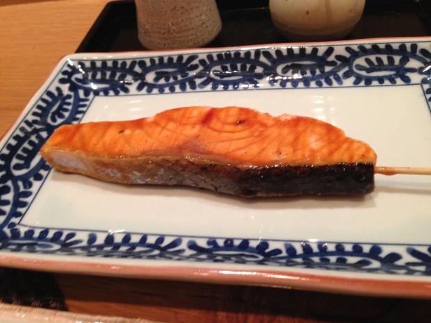 Salmon robata