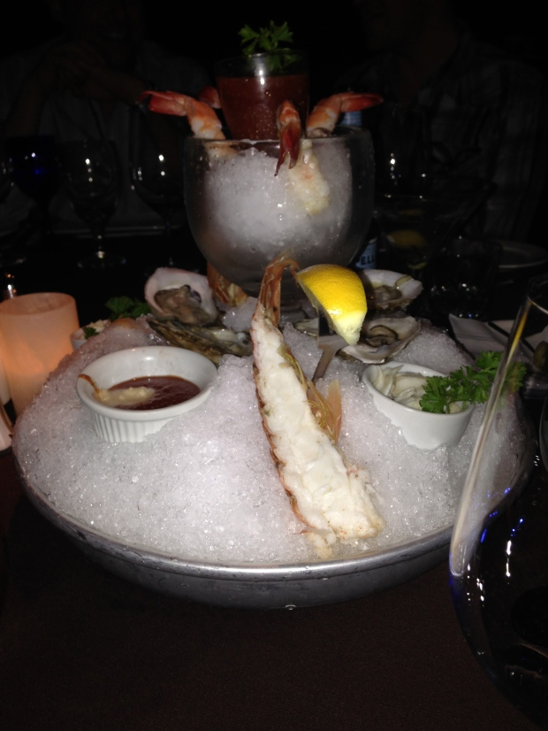 Seafood Tower!