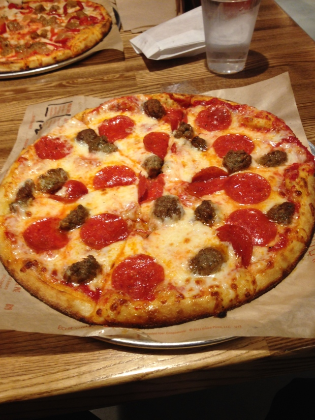 Meat Lovers Pizza - Pepproni, Sausage, Mozzarella