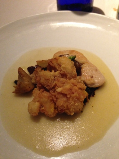 Smoky Chicken and Sweetbreads